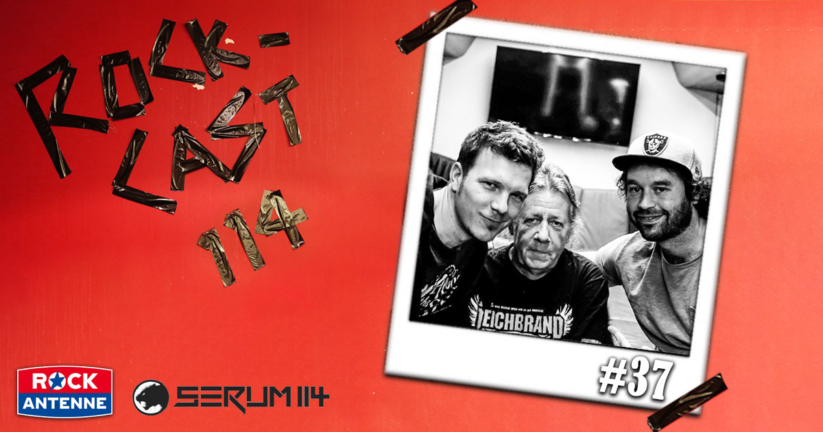 Rock-Cast 114 - Die Late Night Show: Folge 37 - Thomas, der Busfahrer der Rockstars