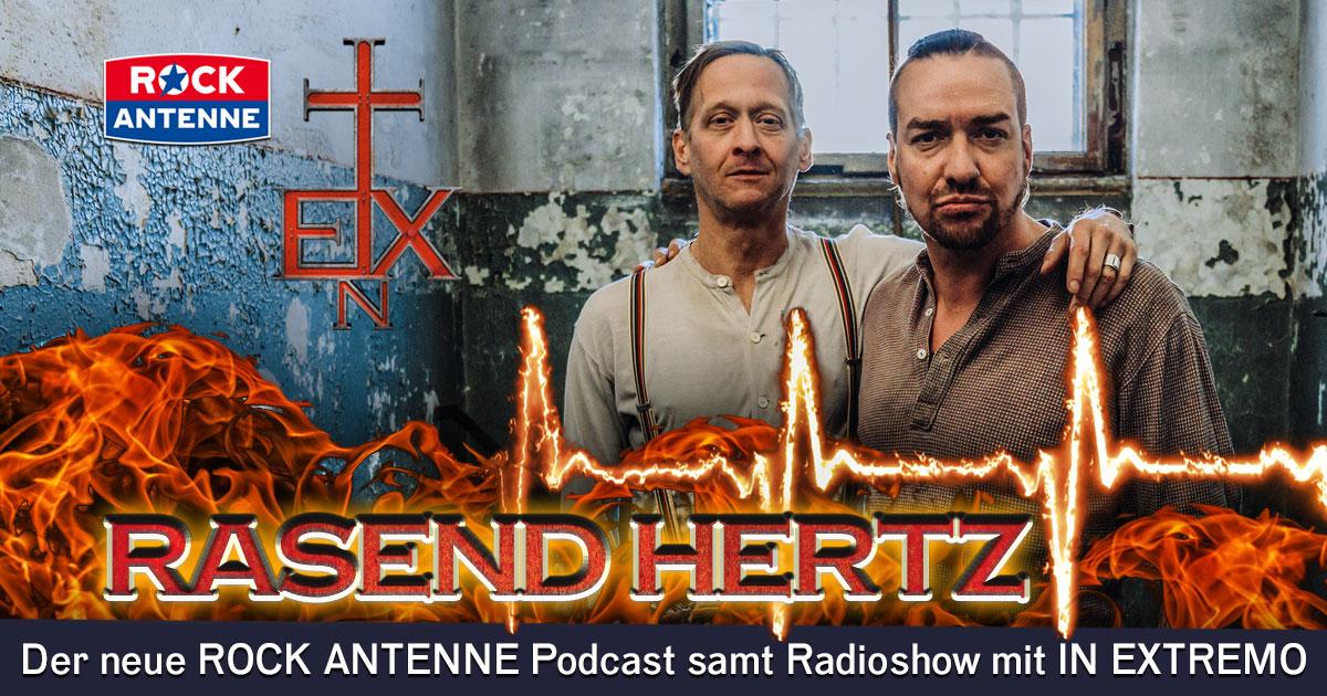 Bühne frei für IN EXTREMO: Freut euch auf RASEND HERTZ, unsere neue Rockstar-Radioshow samt Podcast!