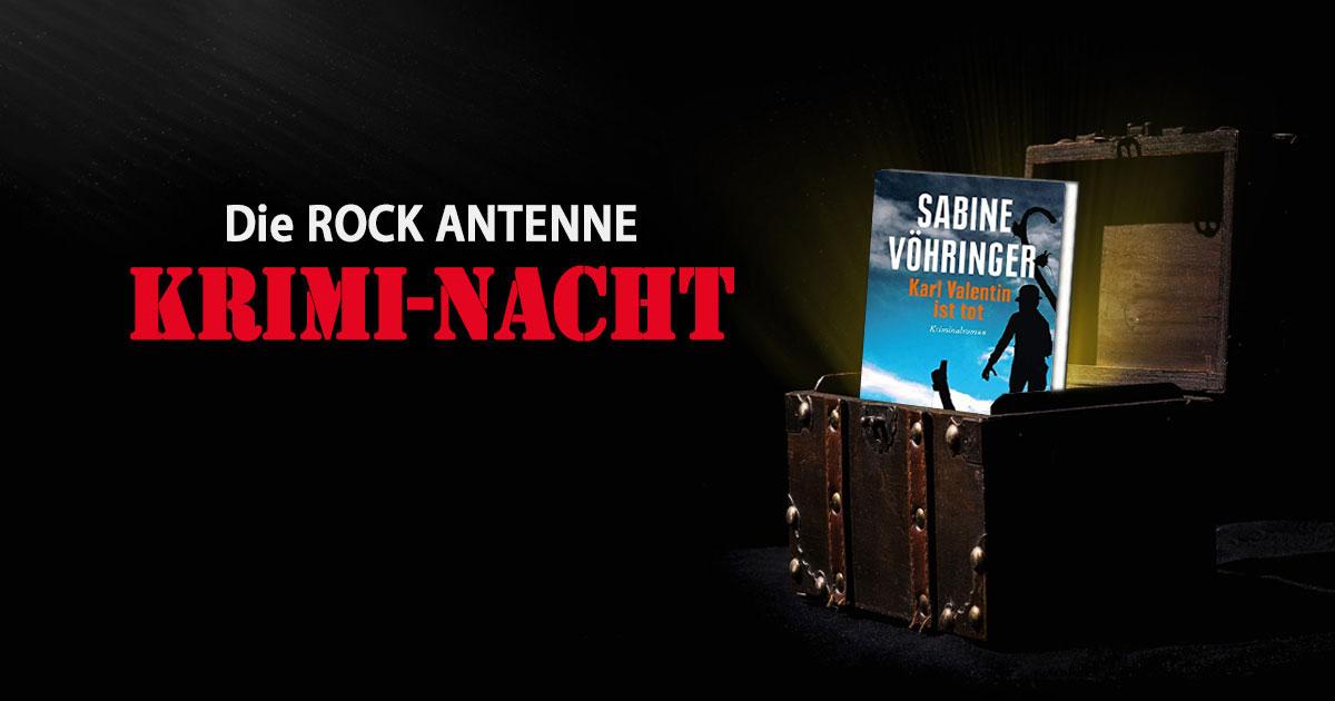 """""""Karl Valentin ist tot"""" von Sabine Vöhringer: Die Krimi-Nacht auf ROCK ANTENNE"""