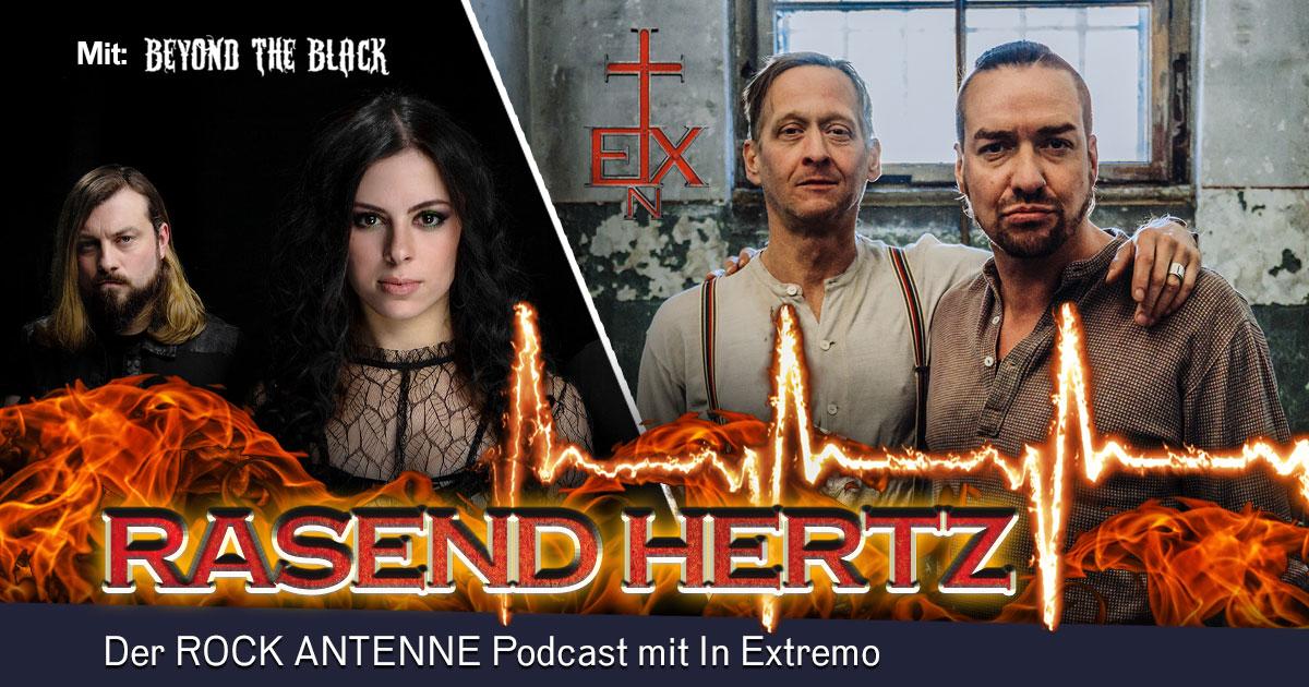 Folge 10: RASEND HERTZ - mit Jennifer und Chris von Beyond The Black