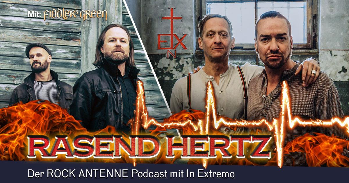 Folge 7: RASEND HERTZ - mit Tobi und Frank von Fiddler's Green