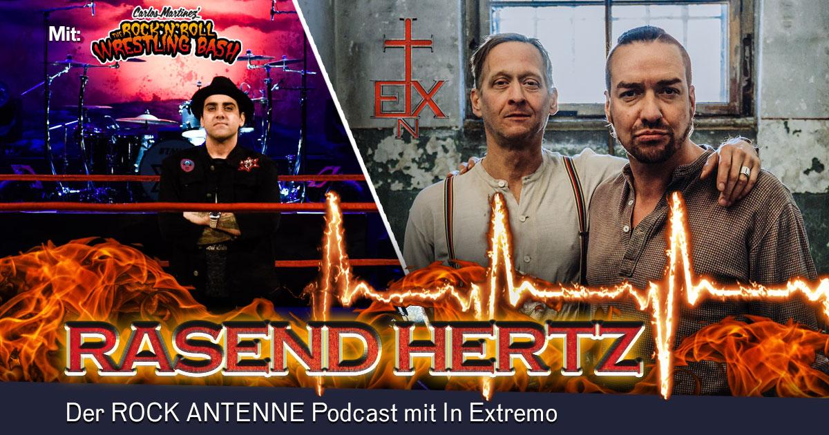 Folge 8: RASEND HERTZ - mit Carlos vom Rock'n'Roll Wrestling Bash