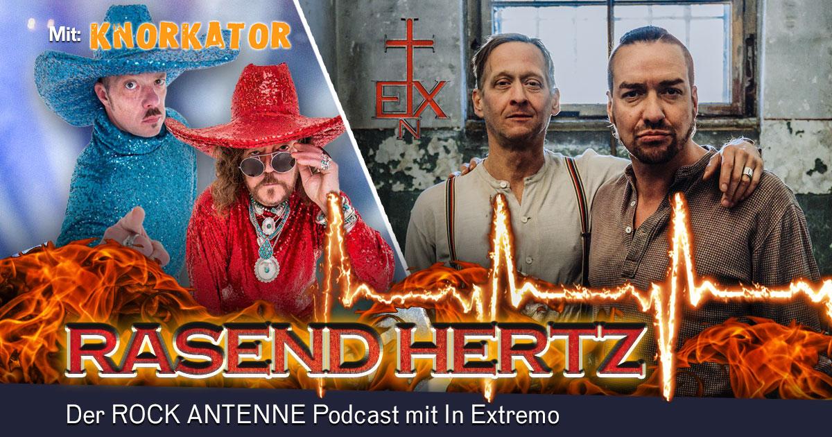 Folge 9: RASEND HERTZ - mit Buzz Dee und Rajko von Knorkator