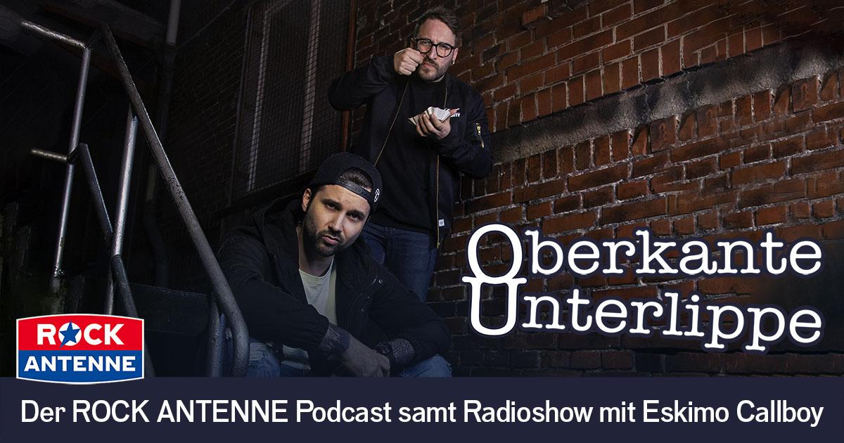 Oberkante Unterlippe: Die Weltpremiere des neuen Podcasts von & mit Eskimo Callboy - jetzt anhören!