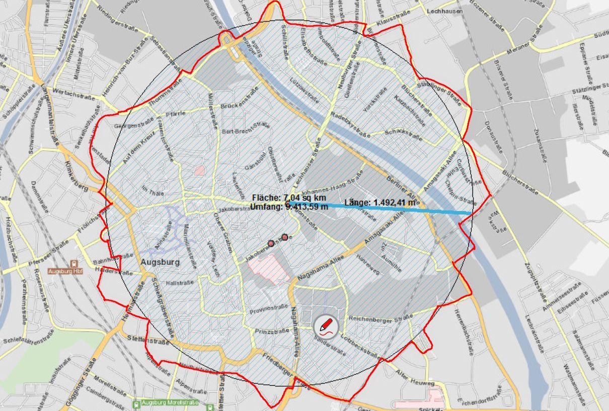 Augsburg: Alle Infos zur Evakuierung am 25.12. wegen Entschärfung der Fliegerbombe