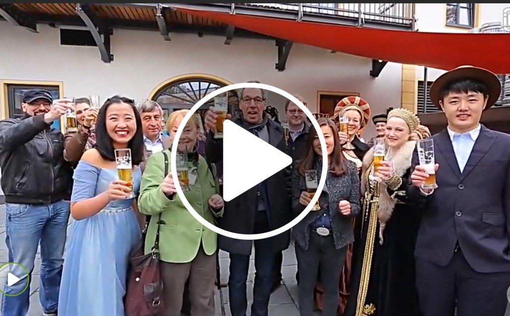 Augsburg wird zum Internet-Hit - dank dieses chinesischen Reisevideos!