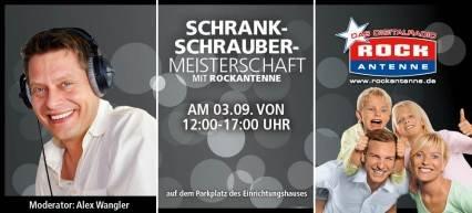 4. Schrankschraubermeisterschaft bei Segmüller in Friedberg