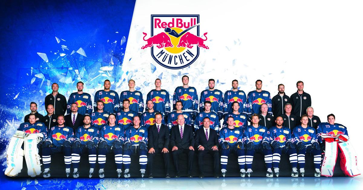 Das Team: Der EHC Red Bull München stellt sich vor