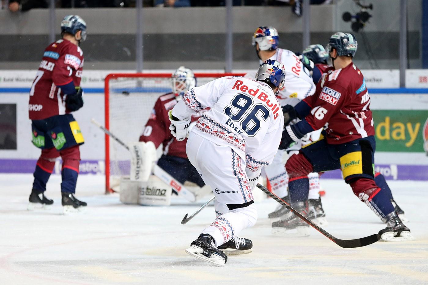 DEL - 33. Spieltag: Red Bulls schlagen Eisbären im Penaltyschießen