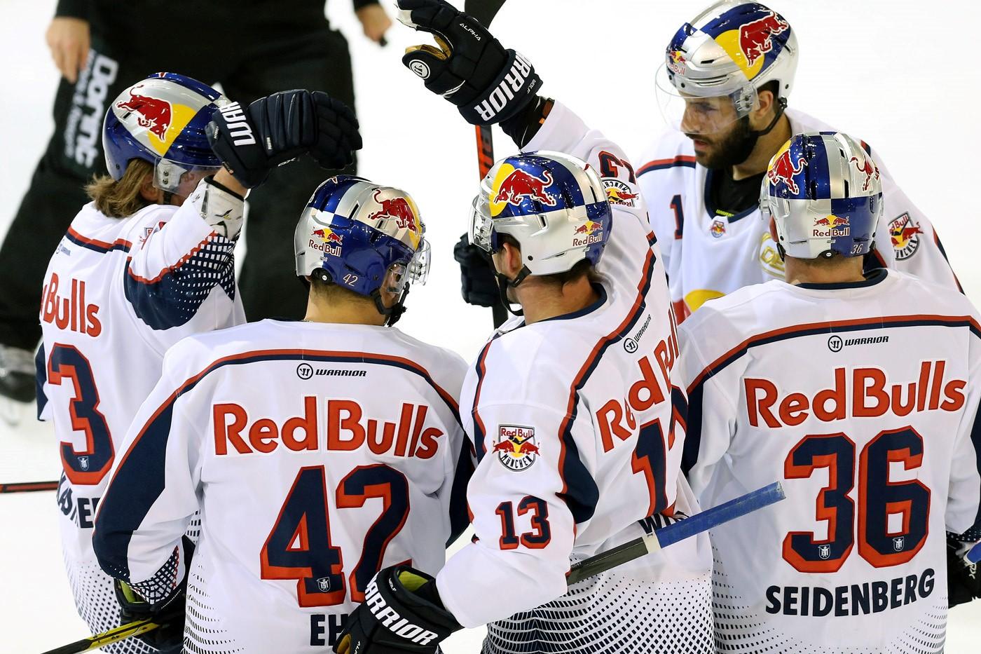 DEL - 37. Spieltag: Red Bulls bezwingen Straubing