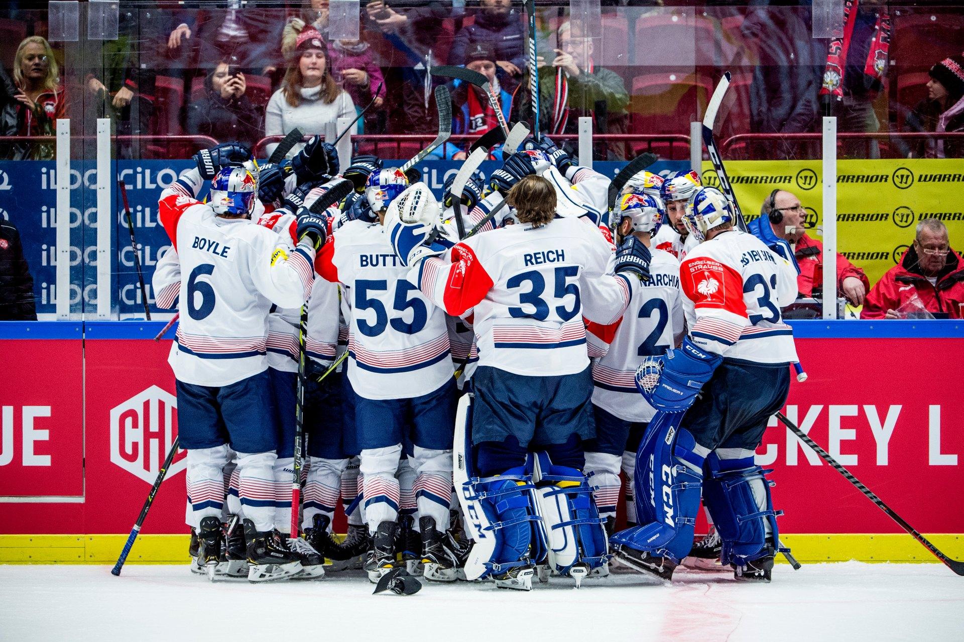 Champions Hockey League: EHC Red Bull München im Halbfinale