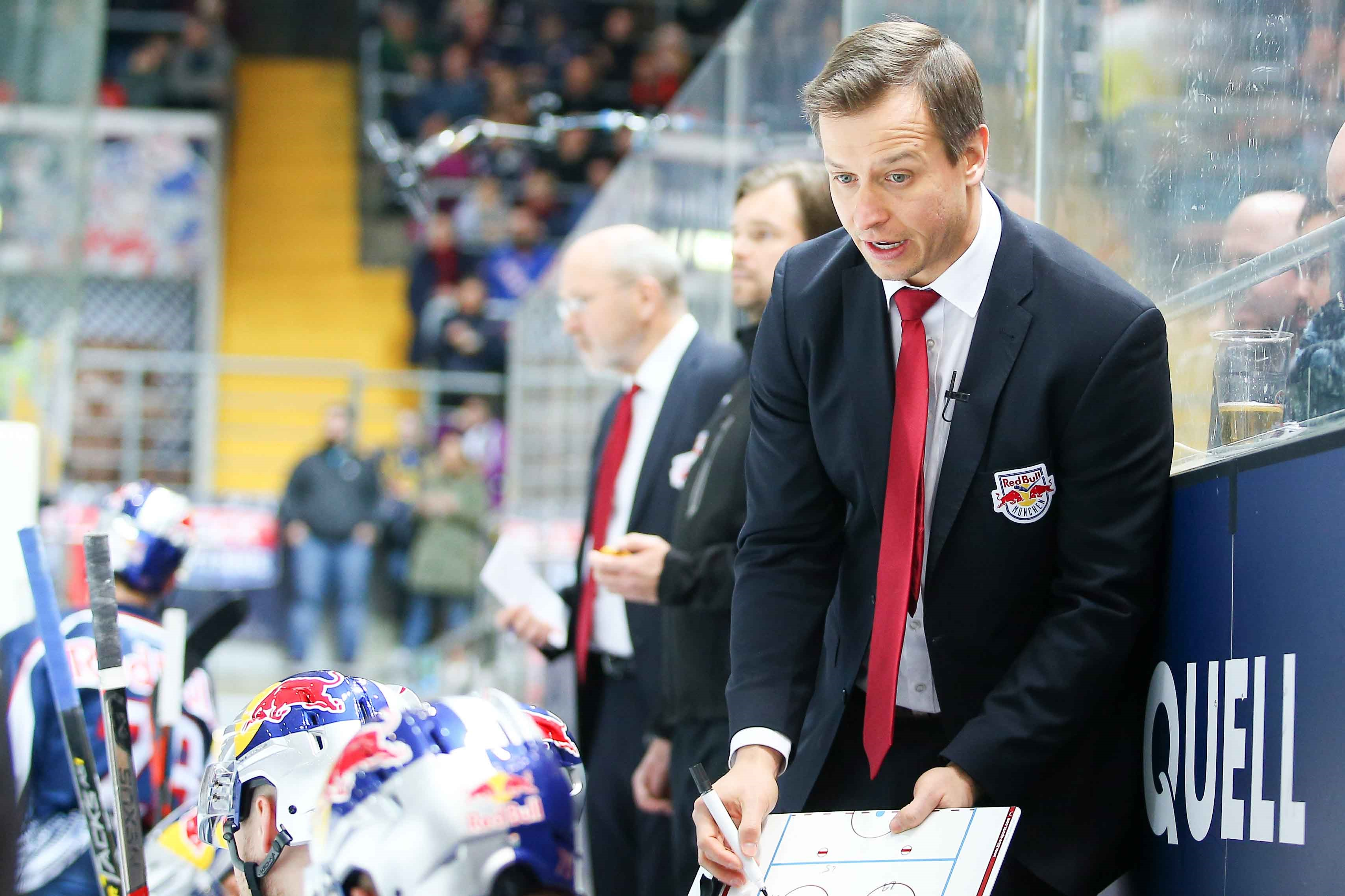 EHC Red Bull München: Co-Trainer Matt McIlvane verlässt den Club