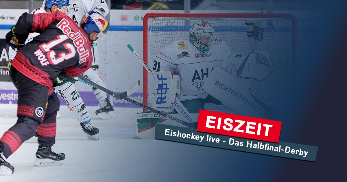 Eiszeit am Mittwoch: Das Playoff-Halbfinale live im Radio!