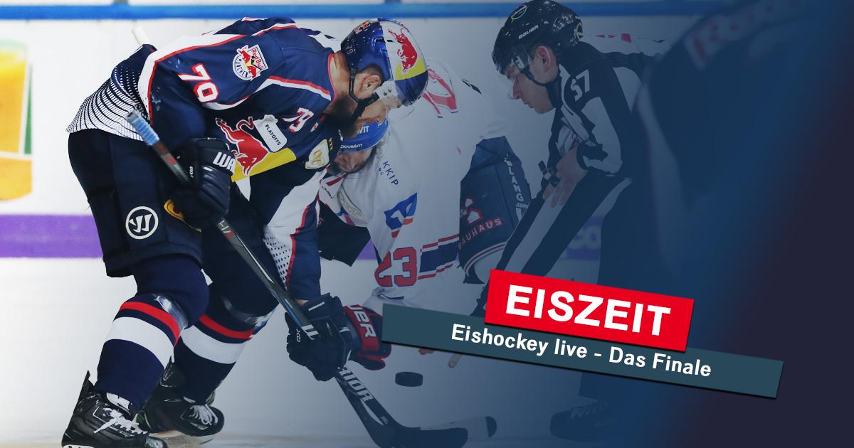 Eiszeit am Mittwoch: Das Playoff-Finale live im Radio!