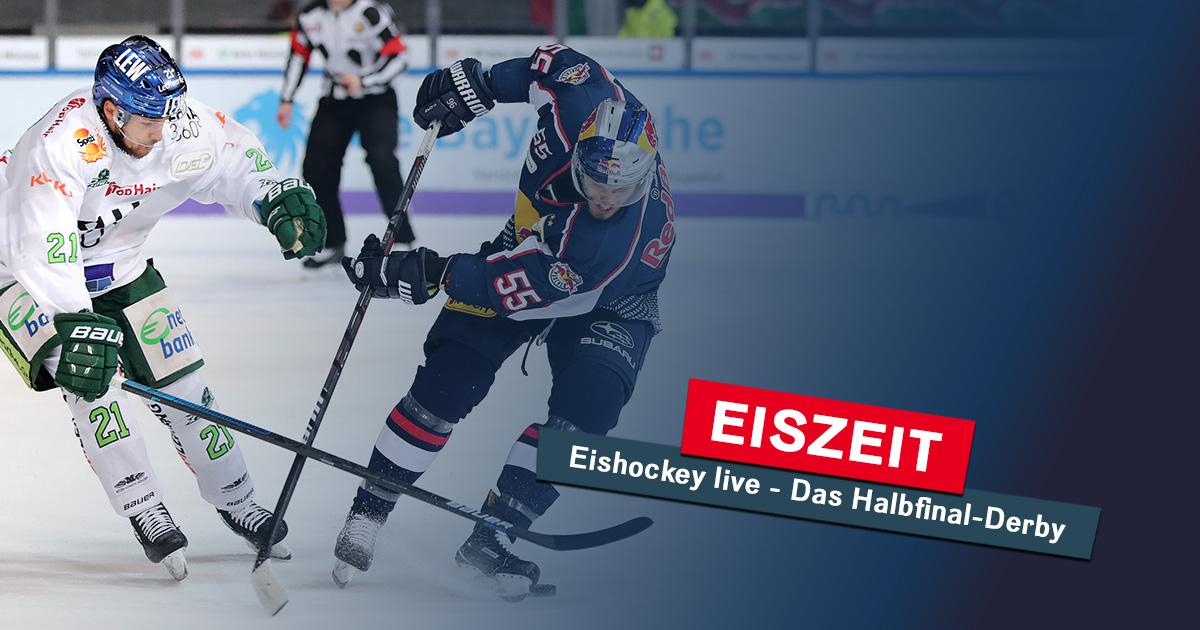 Eiszeit am Freitag: Das Playoff-Halbfinale live im Radio!
