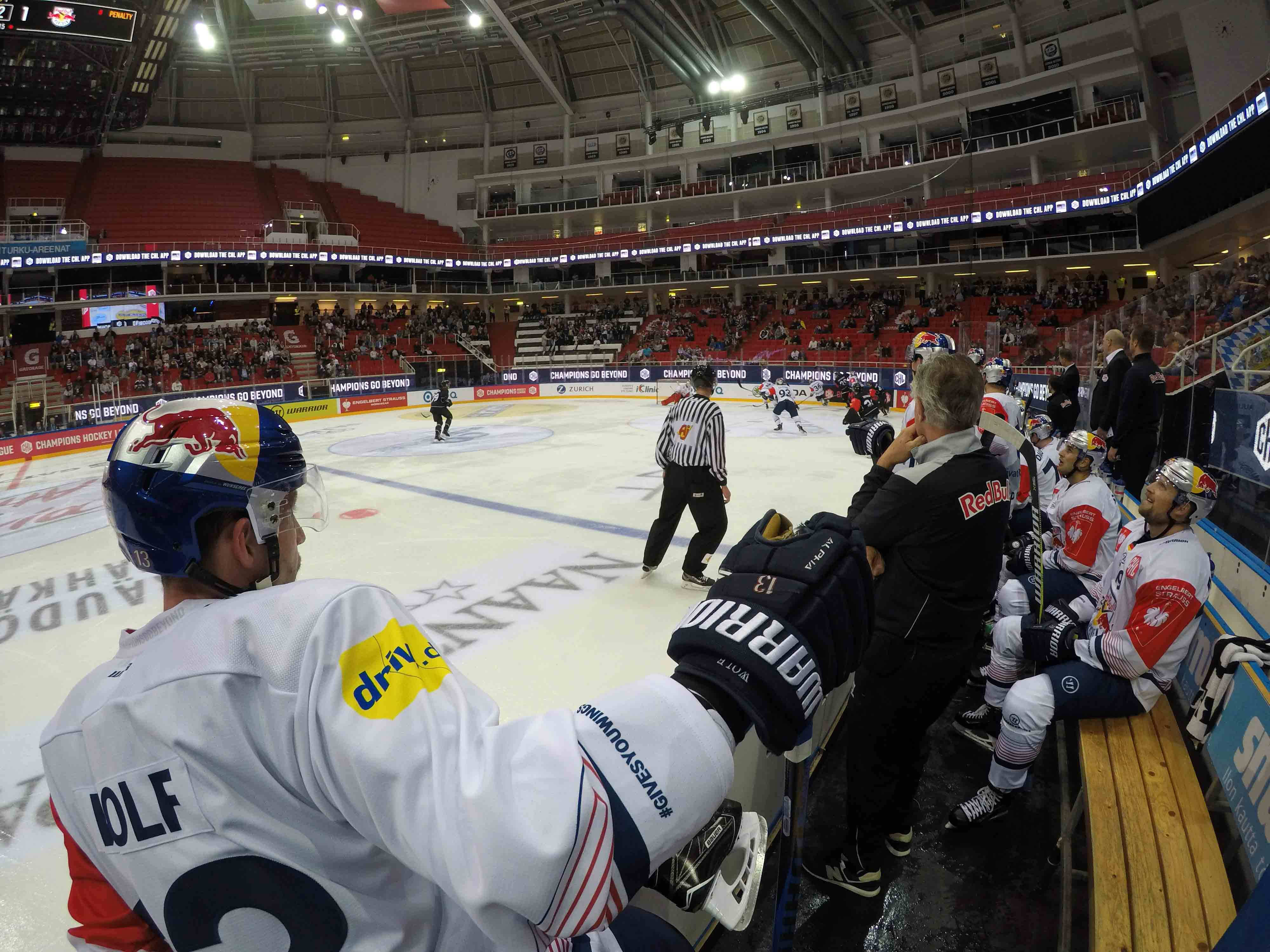 CHL: Red Bulls in Turku spät geschlagen