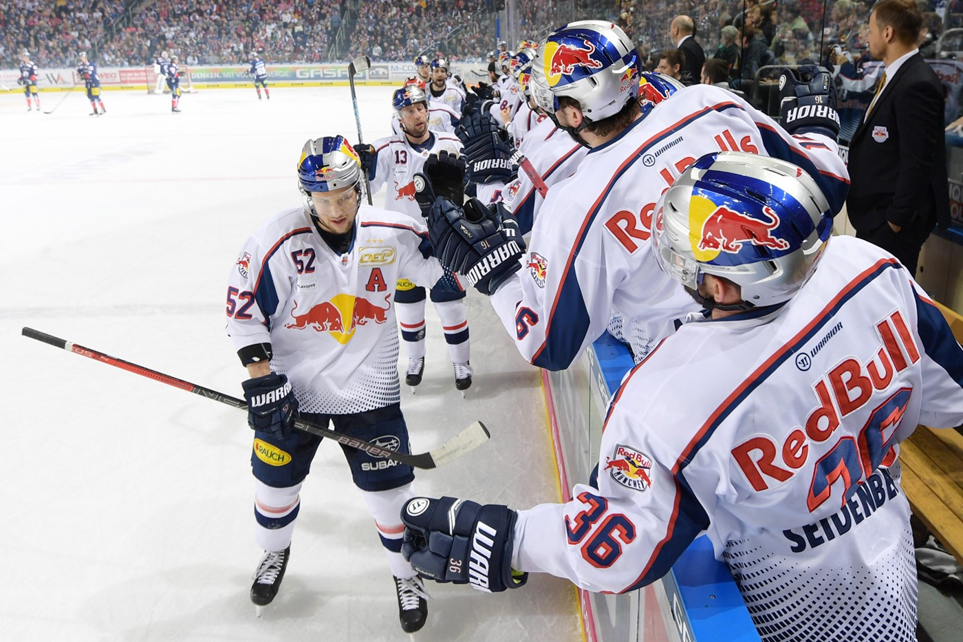 DEL - Playoffs: Red Bulls holen dritten Sieg in Berlin