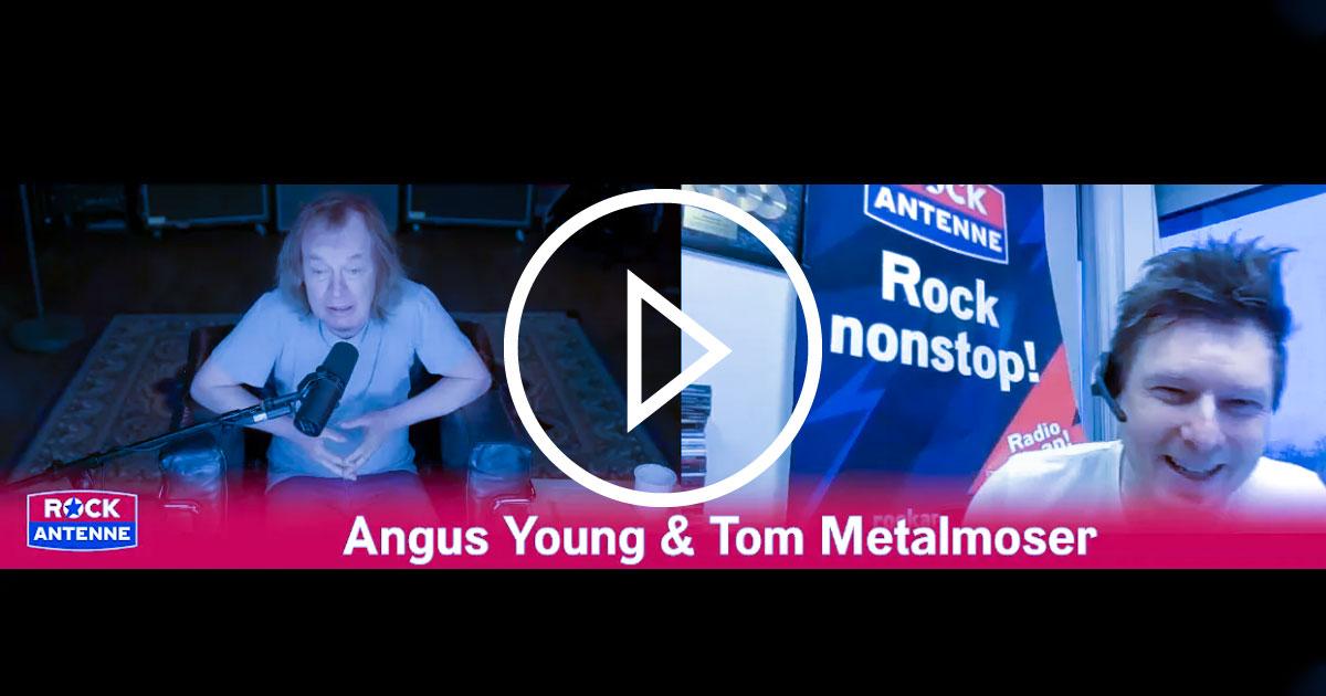 Im Interview: Angus Young über das Vermächtnis von Malcolm und die Pläne von AC/DC