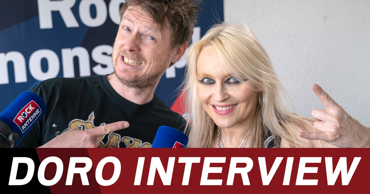 DORO 2018: Neues Album, neue Tour - das ROCK ANTENNE Interview