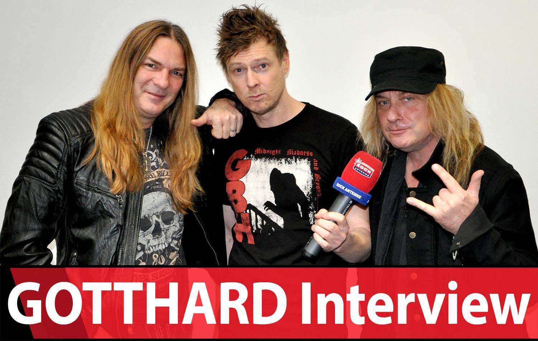 Gotthard feiern 25. Geburtstag - Das ROCK ANTENNE Interview
