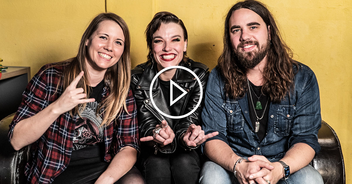Halestorm 2019: Lzzy Hale und Joe Hottinger im Interview