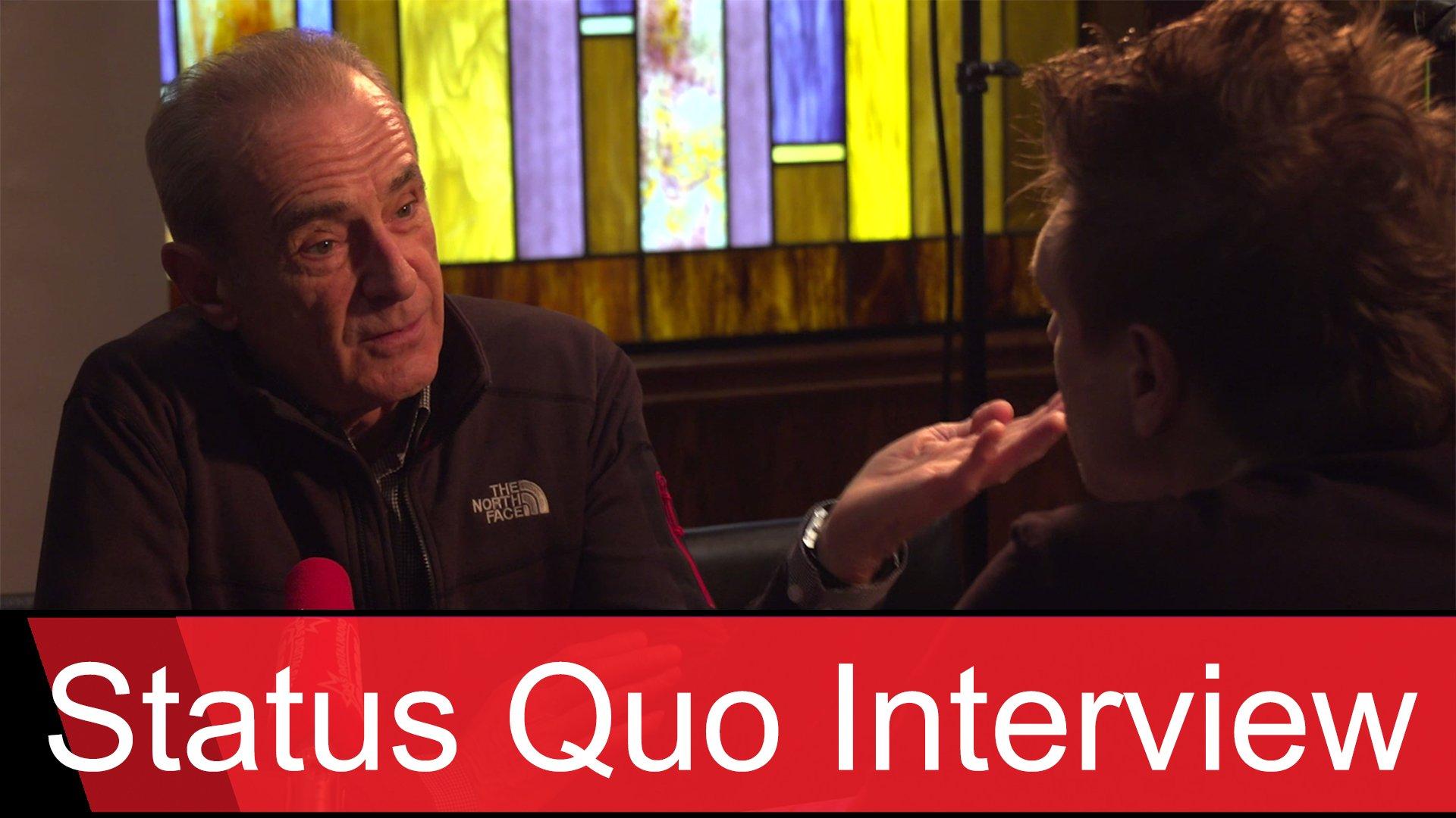 Status Quo: Rentenpläne, Bühnentricks und die Gesundheit von Rick Parfitt - Das ROCK ANTENNE Interview