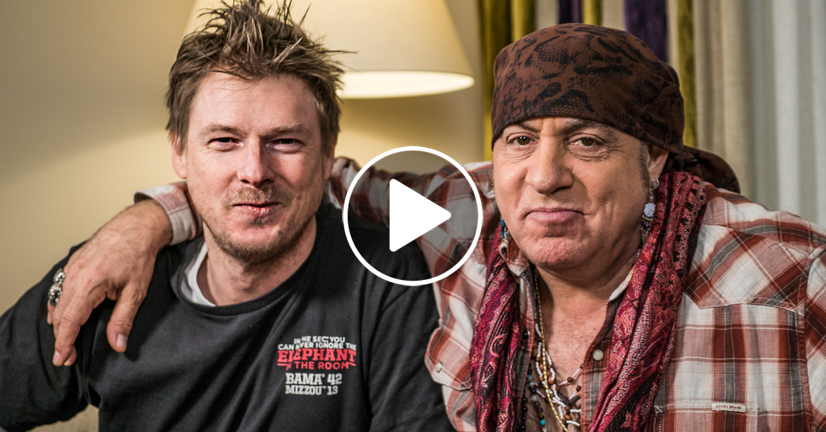 Steven Van Zandt - der Boss hinter THE BOSS im ROCK ANTENNE Interview
