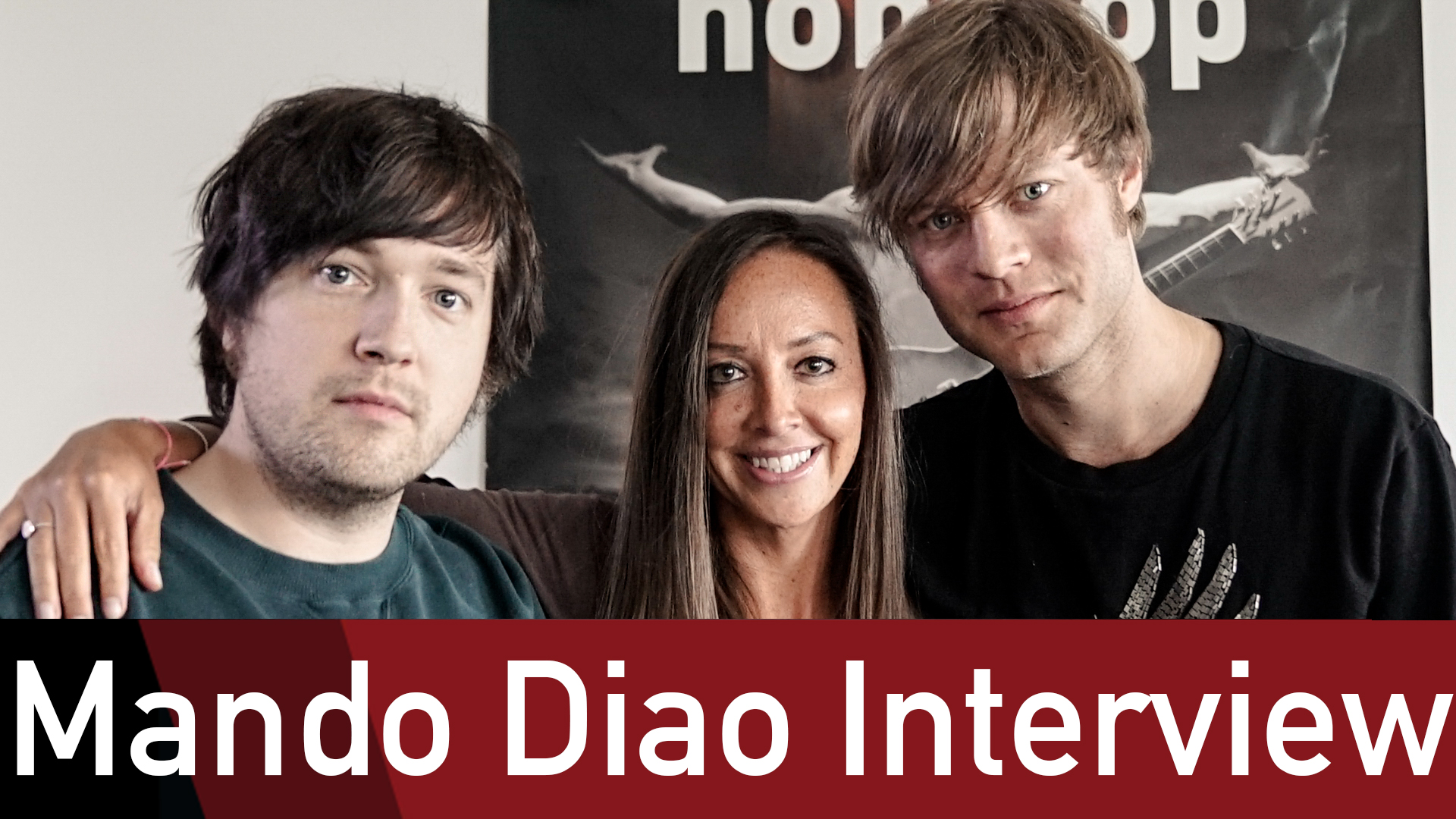 Mando Diao im ROCK ANTENNE Interview