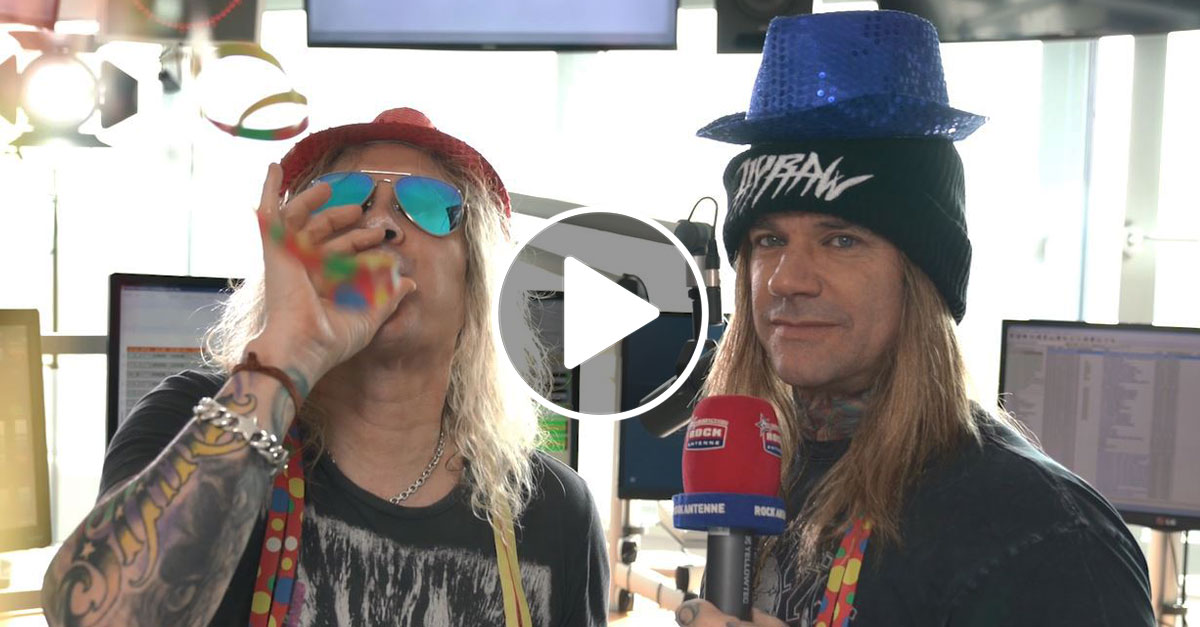 Steel Panther: Glam-Metal-Karneval im ROCK ANTENNE-Interview