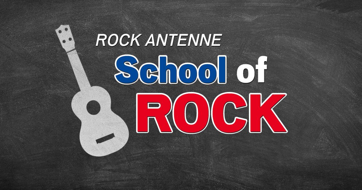 School of Rock auf ROCK ANTENNE - Der etwas andere Gitarrenunterricht!
