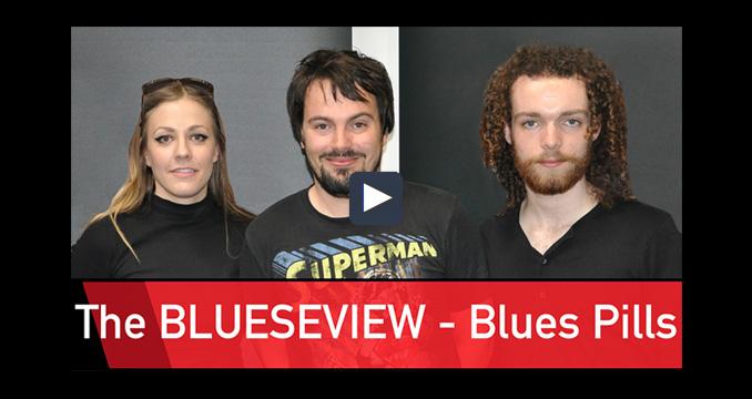 Die Blues Pills im ersten Blueseview der Welt!