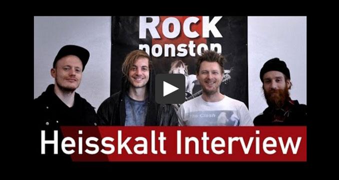 Heisskalt im ROCK ANTENNE-Interview