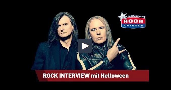 Helloween im ROCK ANTENNE Interview