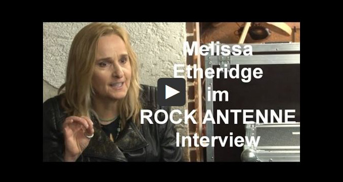 """This is M.E."": Melissa Etheridge im ROCK ANTENNE Interview"