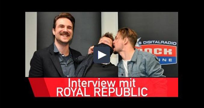 Royal Republic lieben den FC Bayern München und Bastian Schweinsteiger