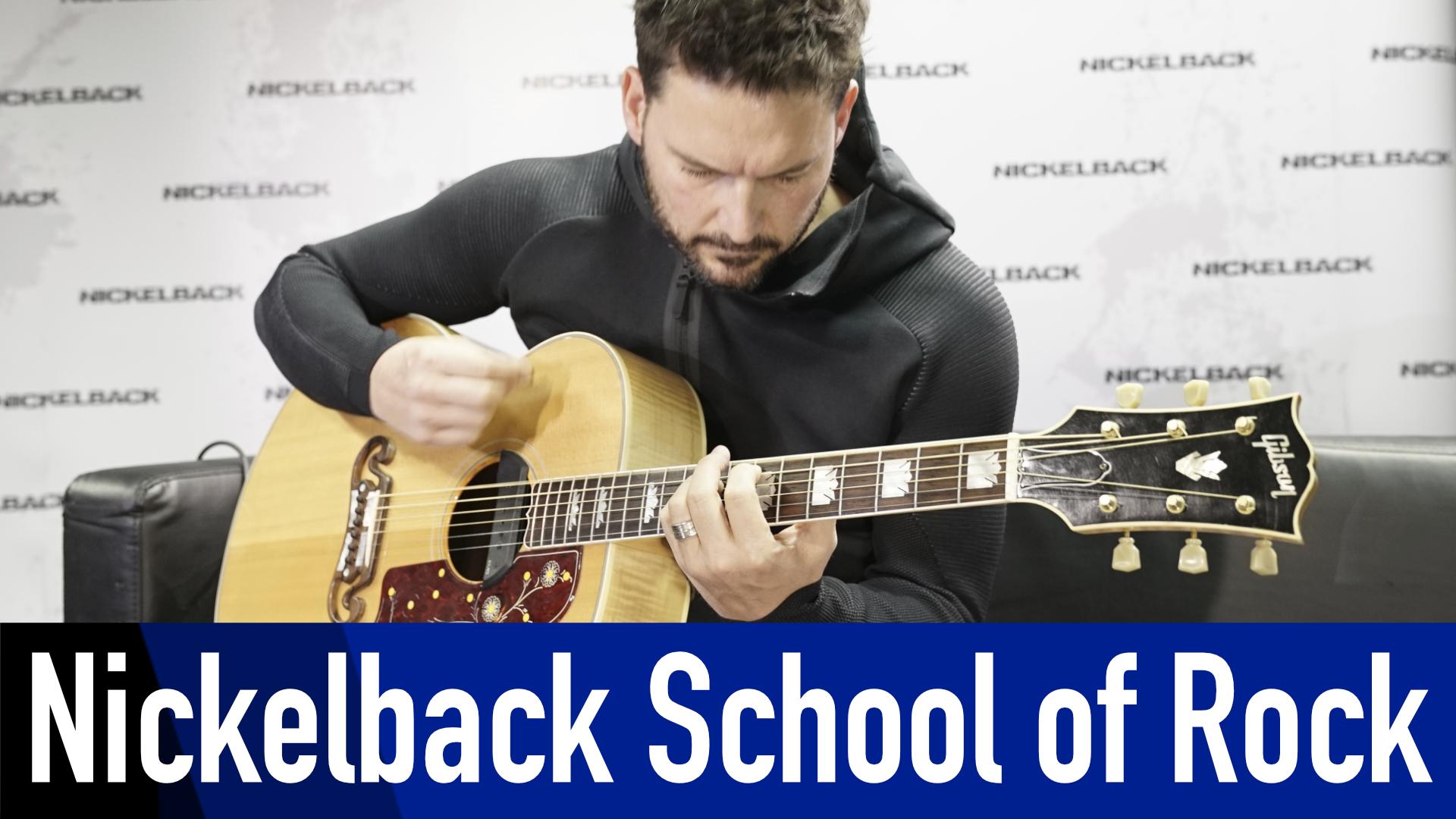 """Nickelback: Ryan Peake erklärt """"Photograph"""""""