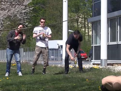 Die Flunkyball-Challenge zum Tag des Bieres