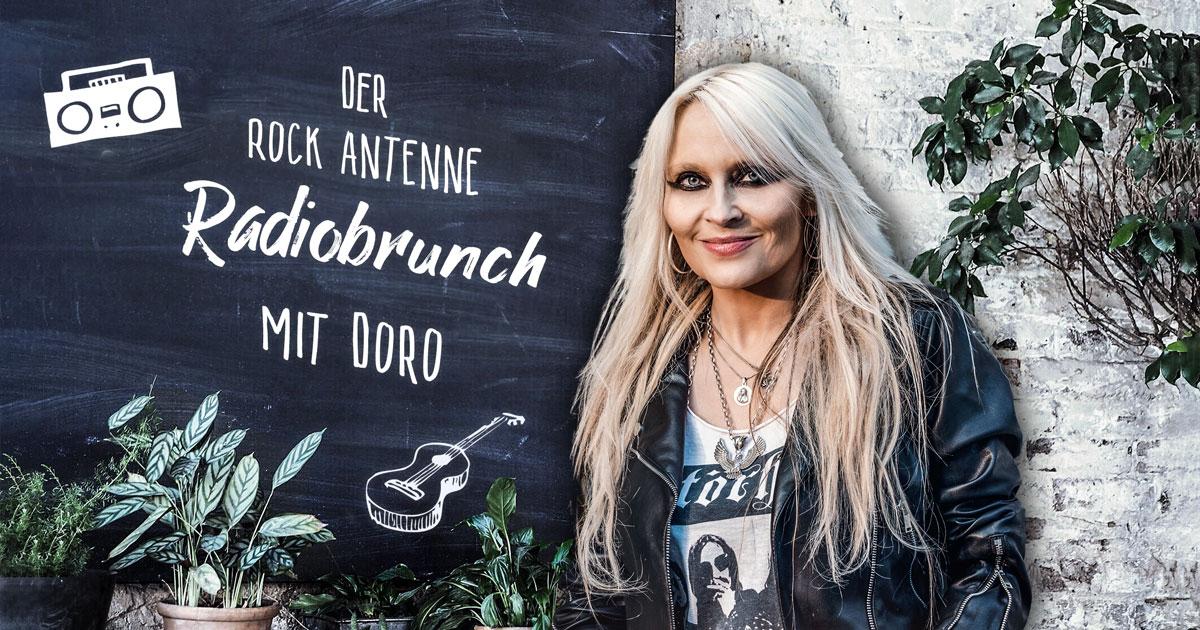 Jeden 1. Sonntag im Monat: Der ROCK ANTENNE Radiobrunch mit Doro Pesch!