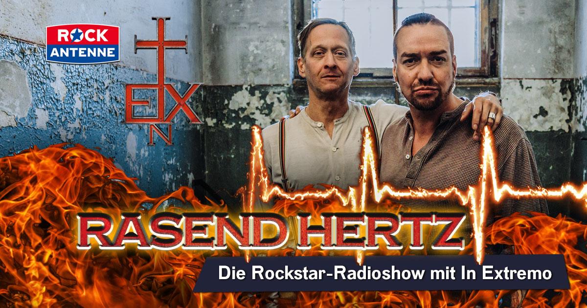 Rasend Hertz: Die Rockstar-Radioshow mit In Extremo