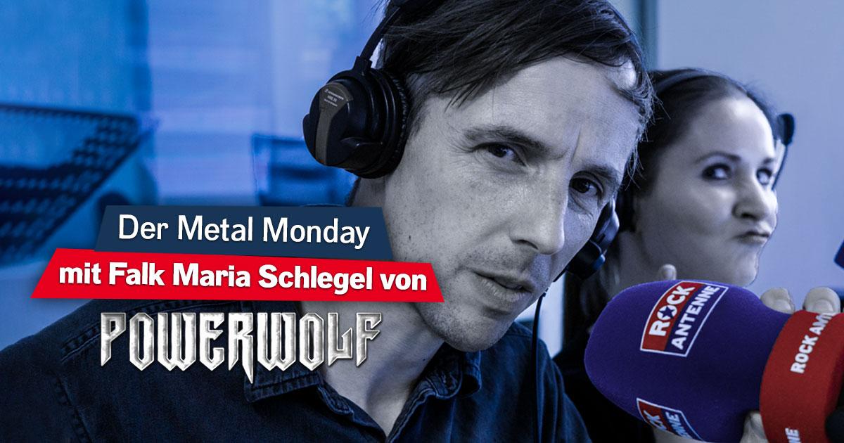 Der Metal Monday mit Falk Maria Schlegel von Powerwolf - immer am dritten Montag des Monats!