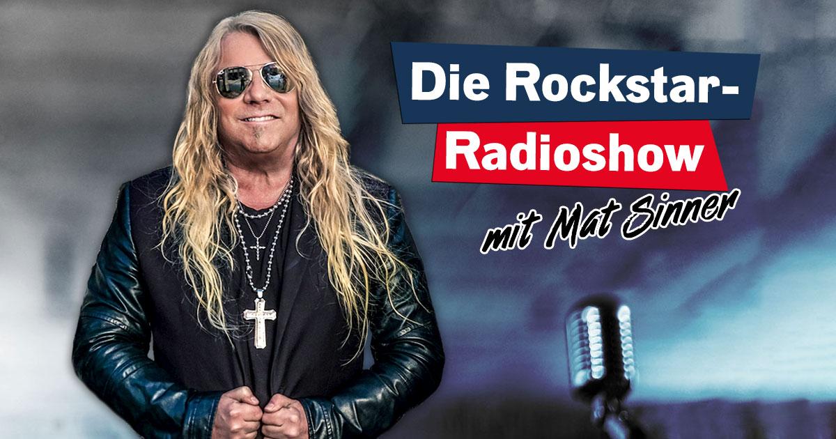 30.09.2018: Das Rockstar-Radioshow Special mit Mat Sinner!