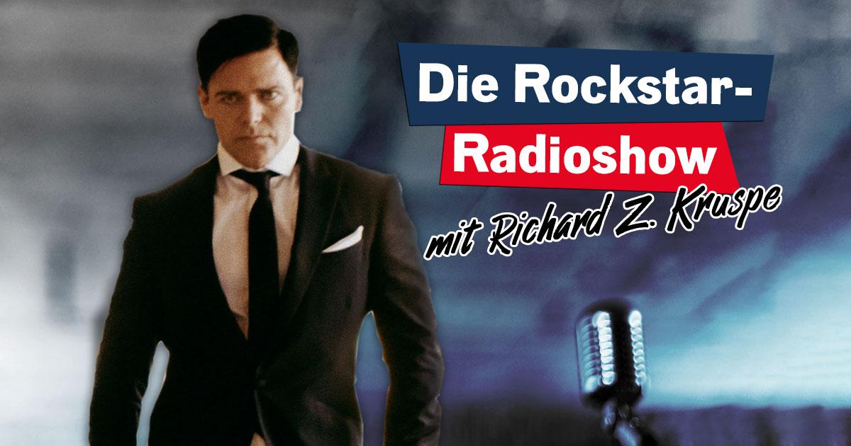 Das Rockstar-Radioshow Special mit Richard Z. Kruspe!