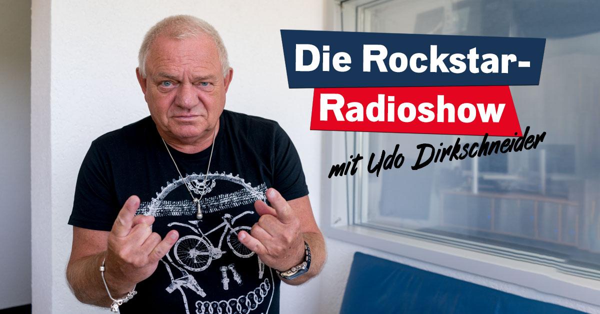 Die Rockstar-Radioshow mit Udo Dirkschneider!