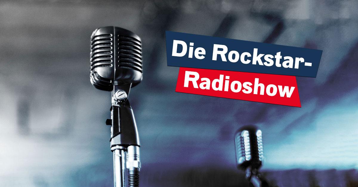 Nur auf ROCK ANTENNE: Die Rockstar-Radioshow!