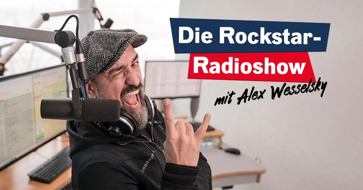 Jeden 2. Sonntag im Monat: Die Rockstar-Radioshow mit Alex Wesselsky!