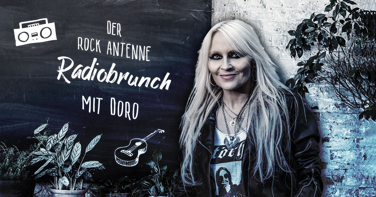 Der ROCK ANTENNE Radiobrunch mit DORO
