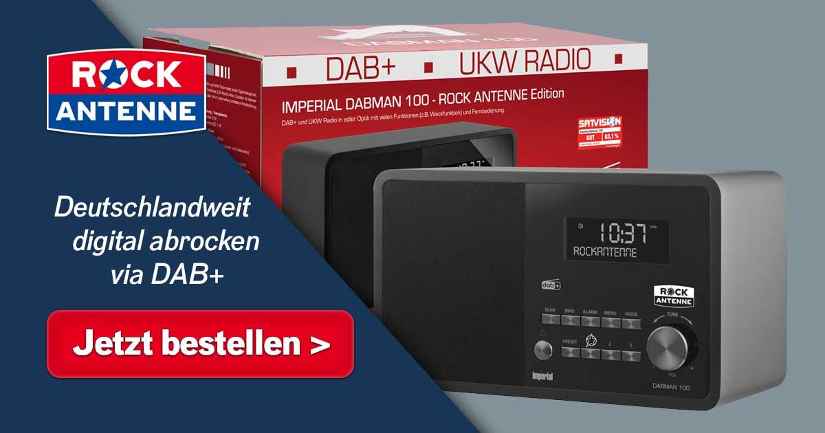Digital abrocken mit Stil: Das ROCK ANTENNE DAB+ Radio