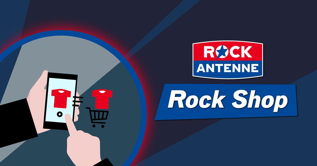 Reinklicken, Shoppen, Abrocken: Der ROCK ANTENNE Merch