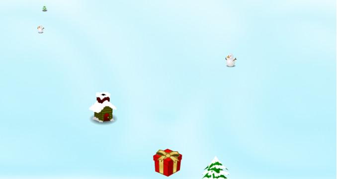 Weihnachtsgeschenke verteilen