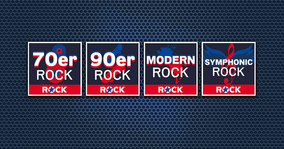 Neu in den ROCK ANTENNE Streams: 70er, 90er, Modern & Symphonic Rock!